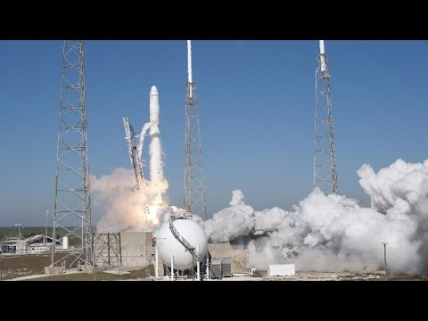 LIVE: SpaceX Falcon 9 rocket launches Dragon cargo ship to ISS