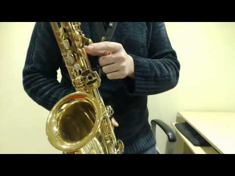 How to play the Theme from Jurassic Park on Saxophone (Saxophone Lesson MS103)