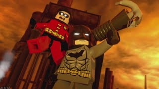 LEGO Batman 3 - 100% Guide #14 - Aw-Qward Situation (All Collectibles - Minikits, Red Brick etc)