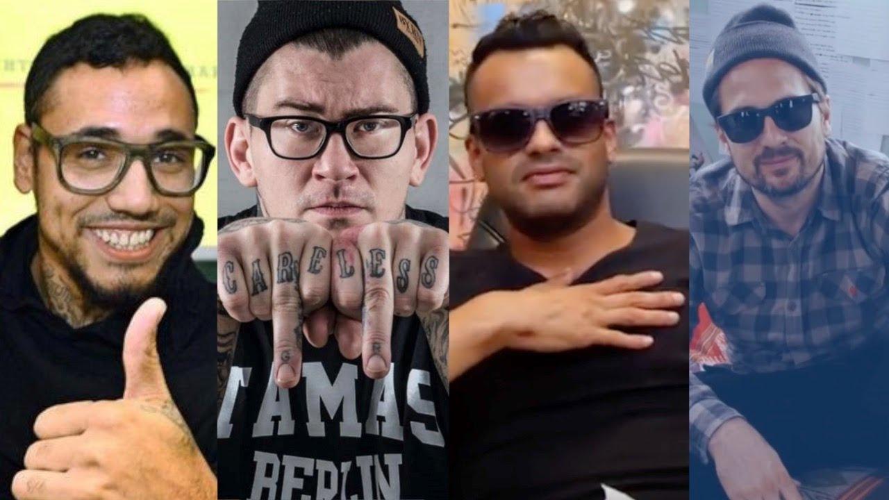 Derill Mack, Tamas, B-Tight und Rhymin Simon beantworten eure Fragen.