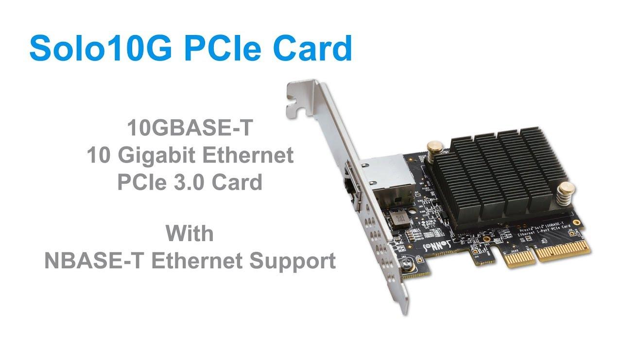Solo10G PCIe Card   Sonnet