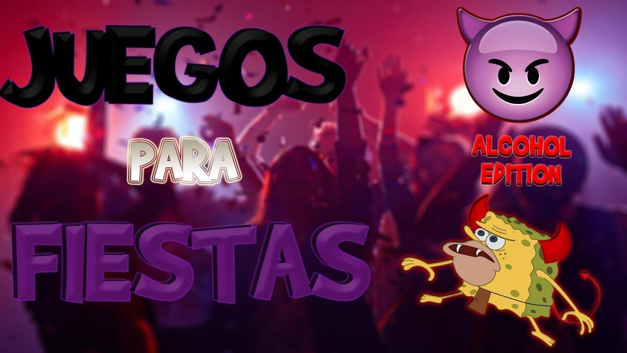 5 Juegos Para Animar Una Fiesta Carrete Alcohol Edition Youtube