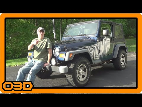 Project 2004 Jeep TJ Walkaround - BEFORE