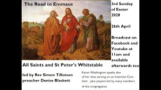 Third Sunday of Easter at All Saints and St Peter's Whitstable