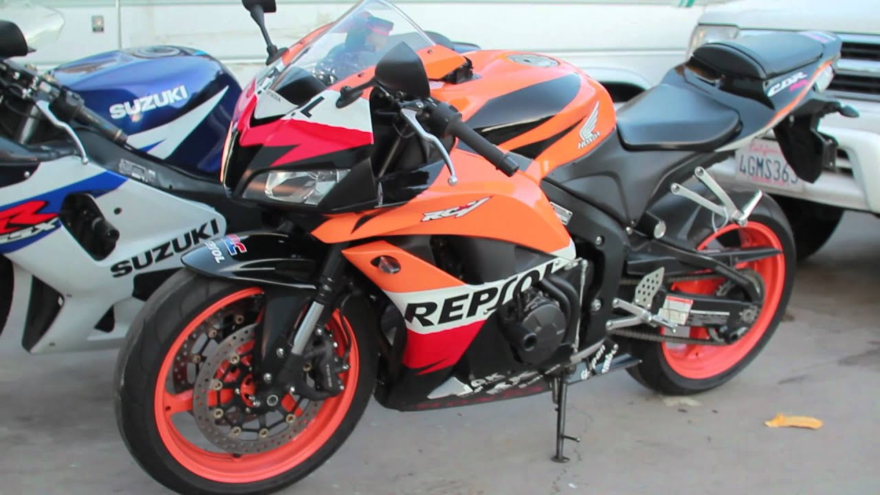 2007 Cbr600rr Repsol Youtube