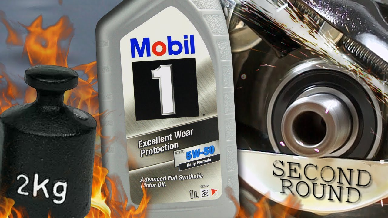 Mobil 1 FS X1 5W50 Jak skutecznie olej chroni silnik? 2kg