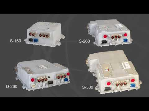 Curtiss-Wright Industrial Group Traction Inverter Range Intr