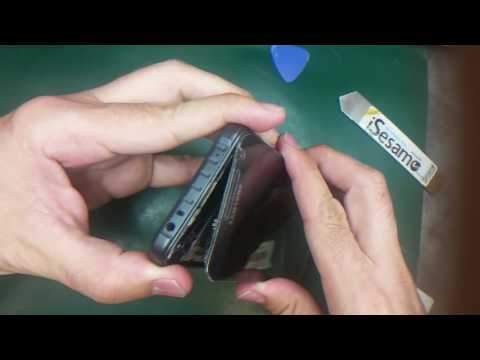 Samsung Galaxy S6 Active : tear down, water damage treatment and screen replacement  (Part 1 )