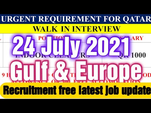 ❤️❤️💋💋😘😘🇦🇪🇦🇪✈️✈️👍👍Latest job update 24 July 2021 for gulf and Europe.🔥🔥