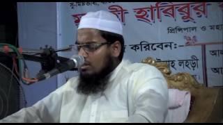 new bangla waz 2016 ---- Principal Mufti Habibur Rahman Misbah