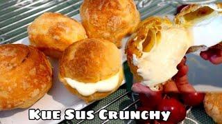 Kue Sus Crunchy   Choux Au Craquelin   Crunchy Cream Puffs