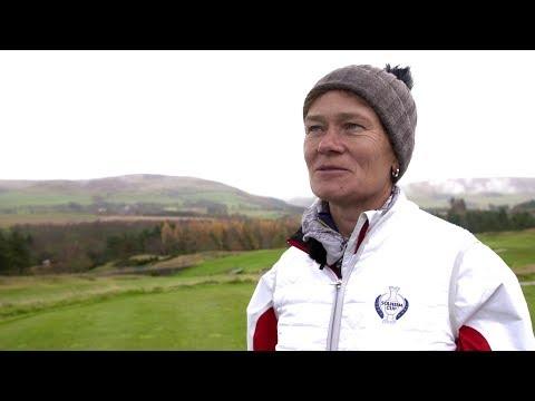 Catriona Matthew Captain's Diaries - Visiting Gleneagles