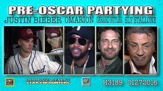 Justin Bieber - Gerard Butler - Sylvester Stallone and Jennifer Flavin - Omarion
