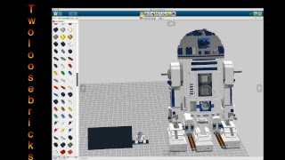 Lego Digital Designer - First Look at this for beginners   7pm AST