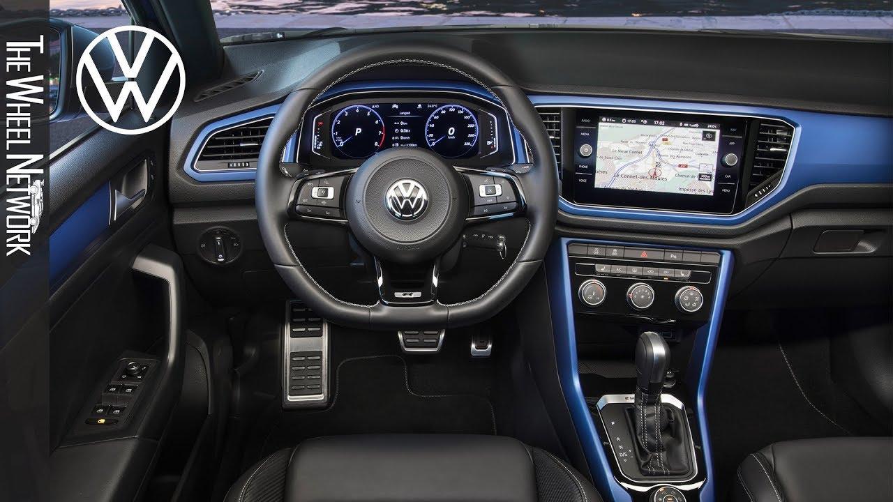2020 Volkswagen T Roc R Interior Youtube