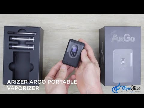 Arizer ArGo Portable Vaporizer – Unboxing