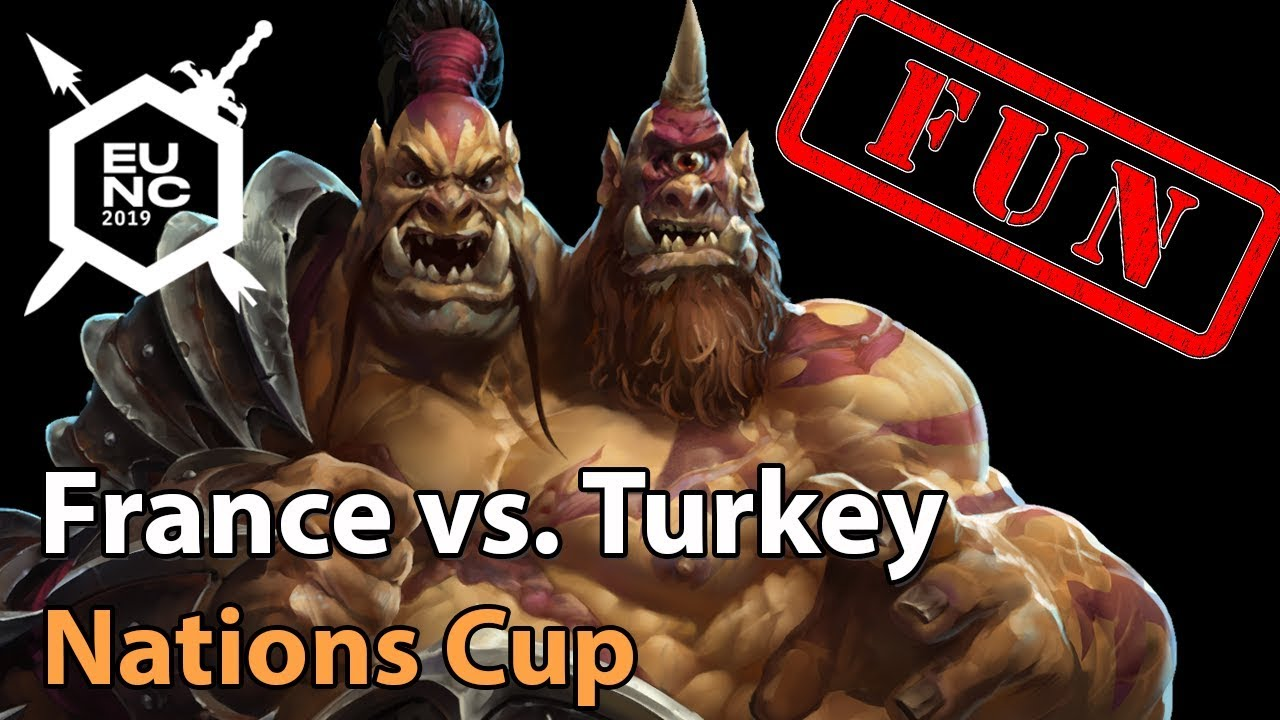 ► FUN: France vs. Turkey - Nations Cup - Heroes of the Storm Esports