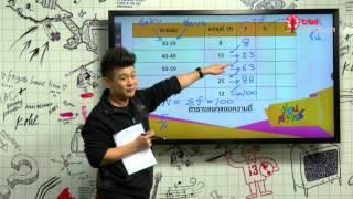 สอนศาสตร์ : ม.ปลาย : คณิตศาสตร์ : สถิติ 2