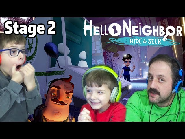 Hello Neighbor Hide and Seek Κλέφτες και Αστυνόμοι Παράξενος Γείτονας Stage 2 Greek Walkthrough