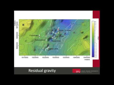 7- Structure and Volcanic Hazards, Mt Tongariro, NZ: 3D Gravity and Magnetics- Craig Miller, 2016
