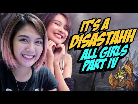 *DOTA* - ALL GIRLS PART 4 (IT'S A DISASTAHHH) LorelynF Sand King with Een