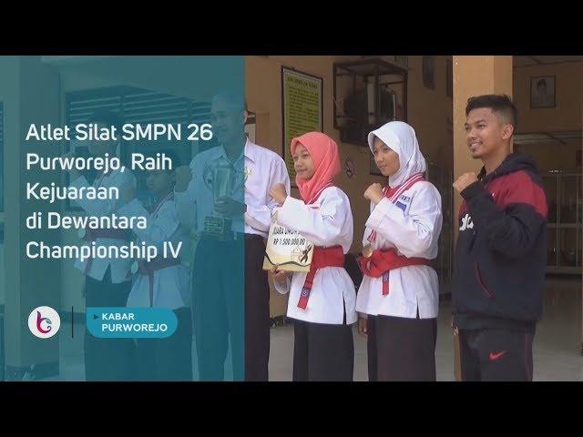 Atlet Silat SMPN 26 Purworejo, Raih Kejuaraan di Dewantara Championship IV