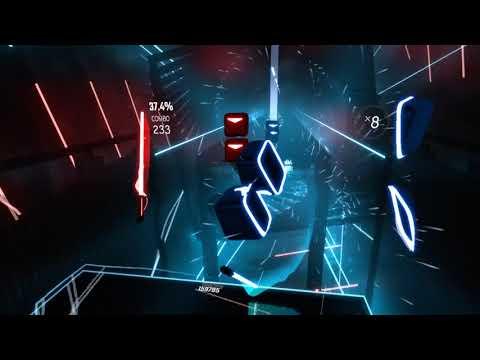 [Beat Saber] Stadium Rave (Jellyfish Jam) - Expert - 100% Perfect Combo - Rank S (custom Song)