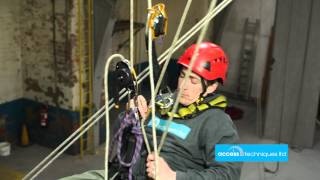 Basic rope access manoeuvres Access Techniques LTD