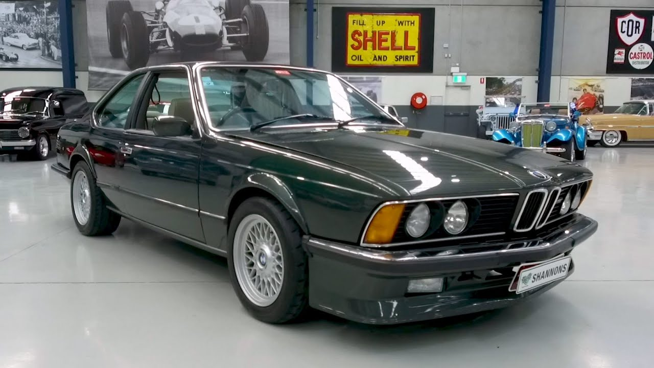 1985 BMW M635CSi (M6) Coupe - 2020 Shannons Winter Timed Online Auction