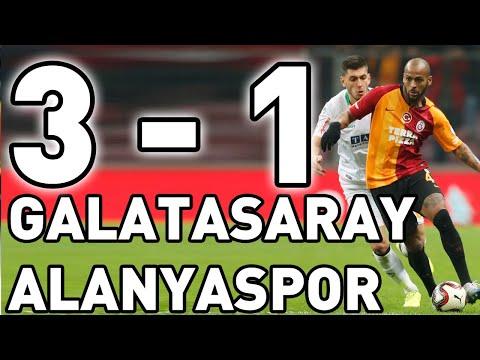 Galatasaray Alanyaspor Maç Özeti (3-1)