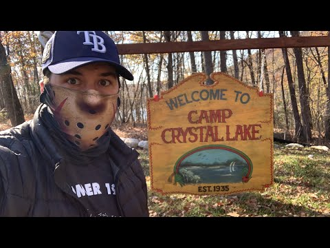 Friday The 13th CAMP CRYSTAL LAKE TOUR - Original Camp Blood FILMING LOCATIONS - 40 Years Later