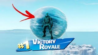 FORTNITE INVINCIBLE GLITCH IN FORTNITE SEASON 7 BATTLE ROYALE *NEW* ICE ORB