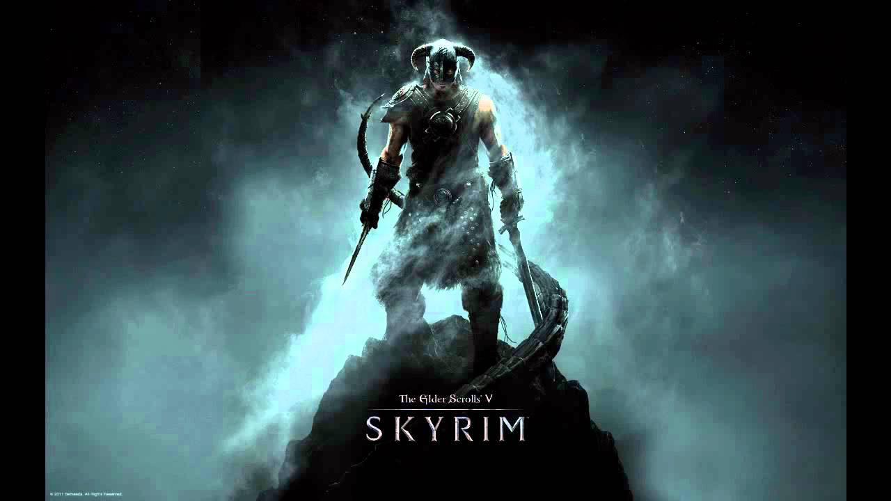 elder scrolls v: skyrim dragonborn wallpaper - youtube