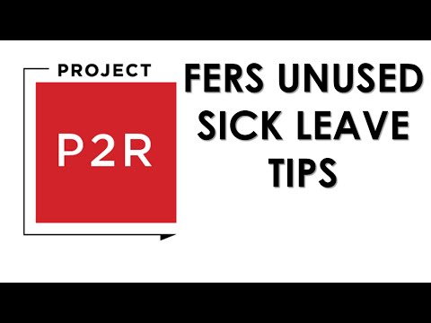 Can you use FERS sick leave credit to retire early?