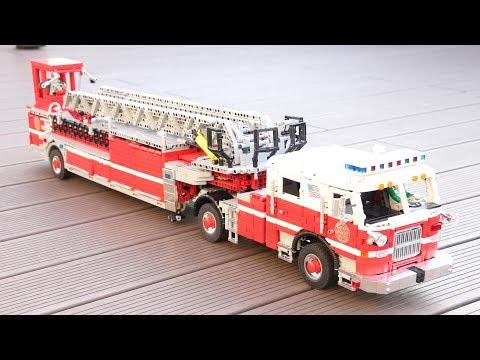 LEGO Technic firetruck PIERCE ARROW XT 100