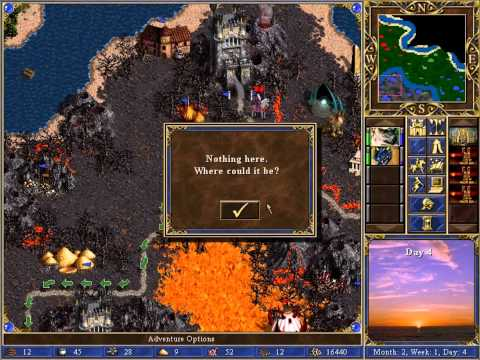 Heroes of Might & Magic 3, Scenario; Caught in the Middle