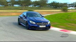 2017 Mercedes Benz C63 S AMG COUPE FIRST DRIVE REVIEW