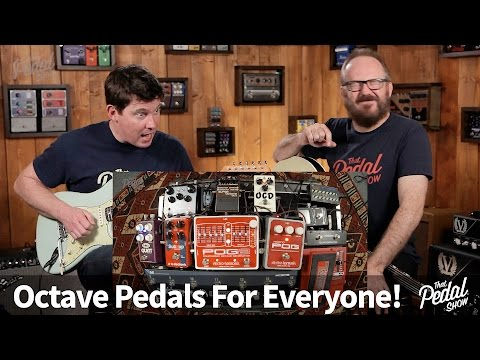 That Pedal Show – Octave Pedals For Everyone!