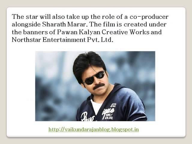 Thumbnail for Vaikundarajan On Pawan Kalyan's Next Film Sardaar Gabbar Singh