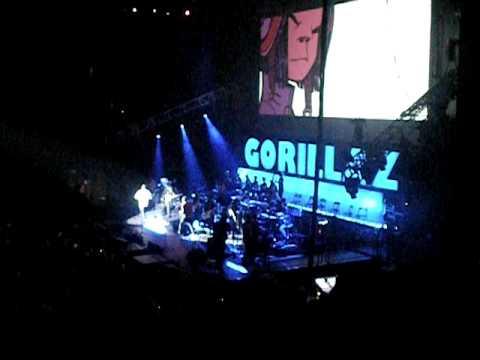 Gorillaz Plastic Beach tour Punk live Toronto ACC Oct 14 2010