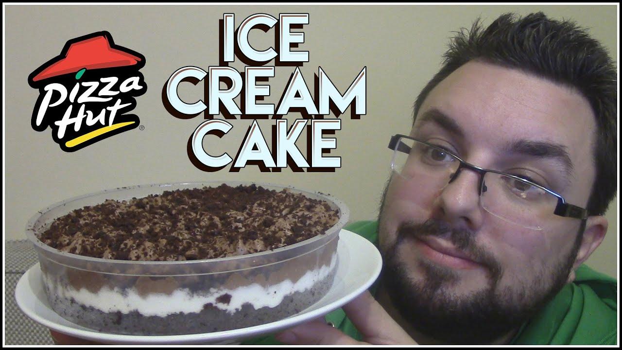 Cake Ice Cream Pizza : Pizza Hut Ice Cream Cake Review - YouTube