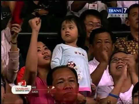 2009 Indonesia Open Taufik Hidayat Vs Peter Gade