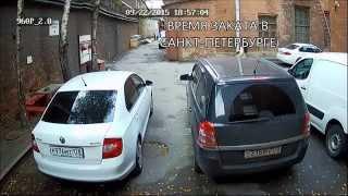 Пример работы AHD-видеокамеры REDLINE