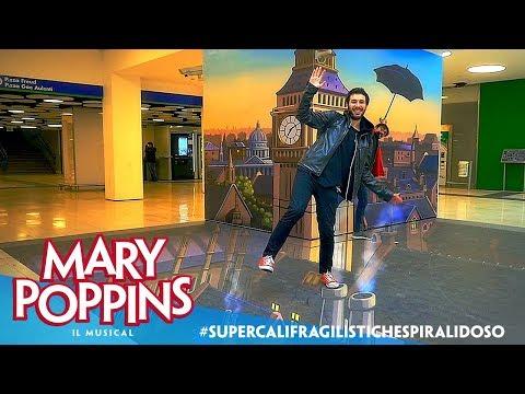 Mary Poppins | L'installazione 3D in Porta Garibaldi