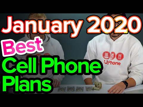 Best Cell Phone Plans [January 2020]