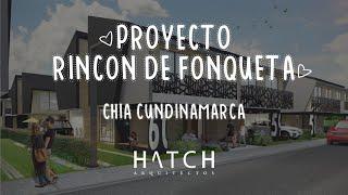 ANIMACIÓN ARQUITECTÓNICA: Diseño y recorrido Rincón de Fonqueta  (Chía- Cundinamarca). 📐✂🏡