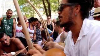 Roda de capoeira na Praça da República Fevereiro 2017