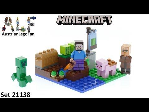 Lego Minecraft 21138 The Melon Farm - Lego Speed Build Review