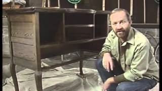 How to Refinish Furniture -- How to Restore Old Furniture -- DIY Furniture Restoration [3 of 3]