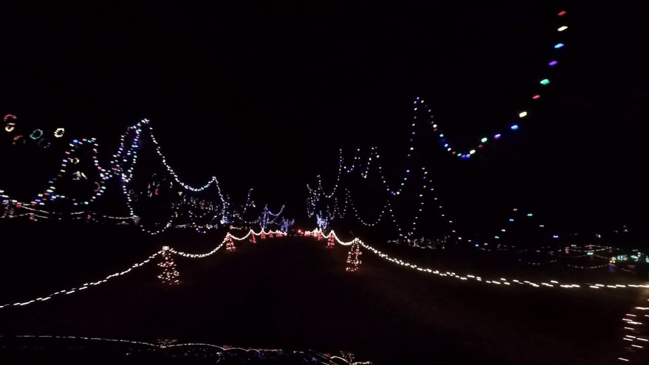 Zootastic Christmas Lights 2016 - YouTube